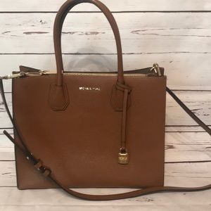 New Michael Kors Leather Handbag